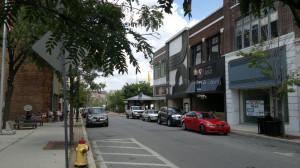 11th Avenue near Mountain View Eye Associates, looking east